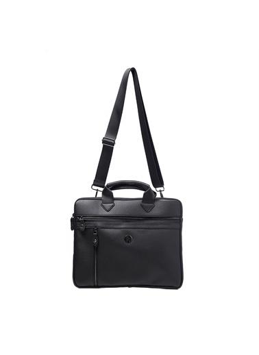 TH Bags   Erkek Evrak Çantası Th602400  Siyah